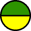 green yellow circle